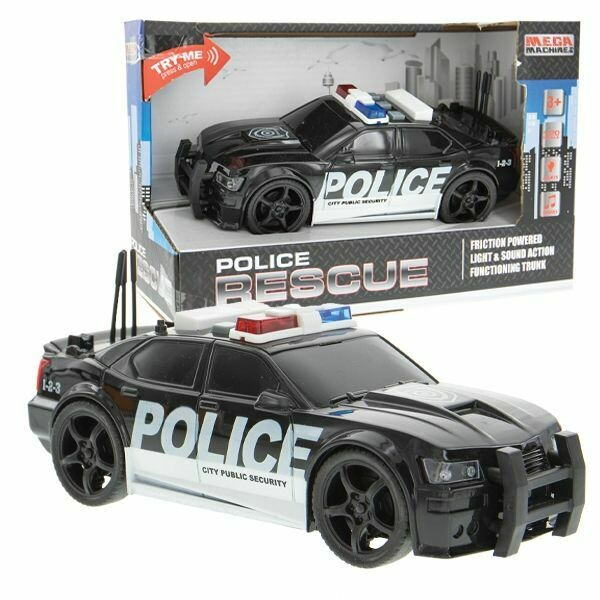 LIGHT AND SOUND POLICE RESCUE CAR