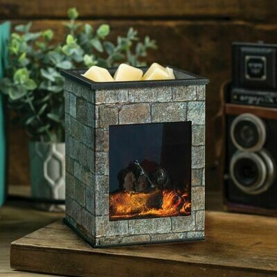 CANDLE WARMERS FIREPLACE FRAGRANCE WARMER