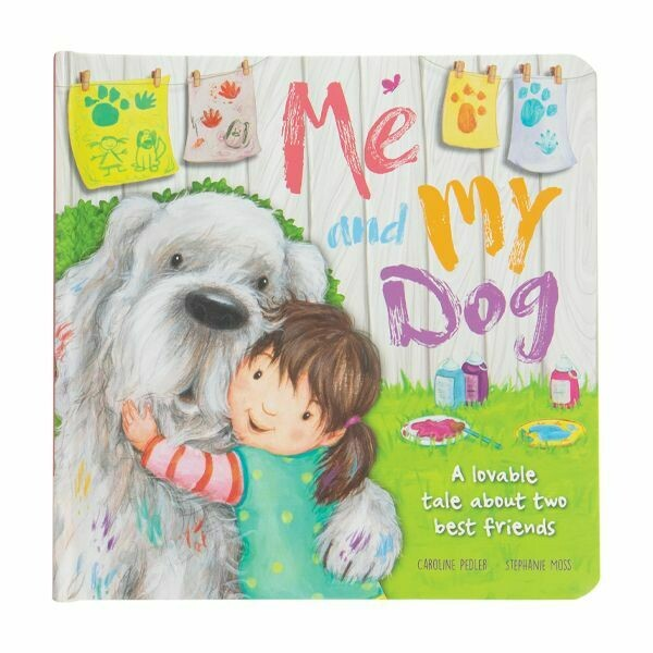 """8"""" PADDED BOARD BOOK-ME AND MY DOG"""