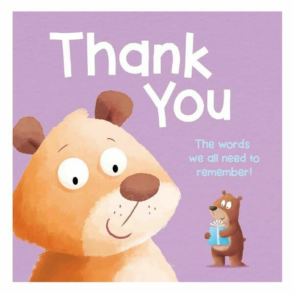 """8"""" PADDED BOOK-THANK YOU"""