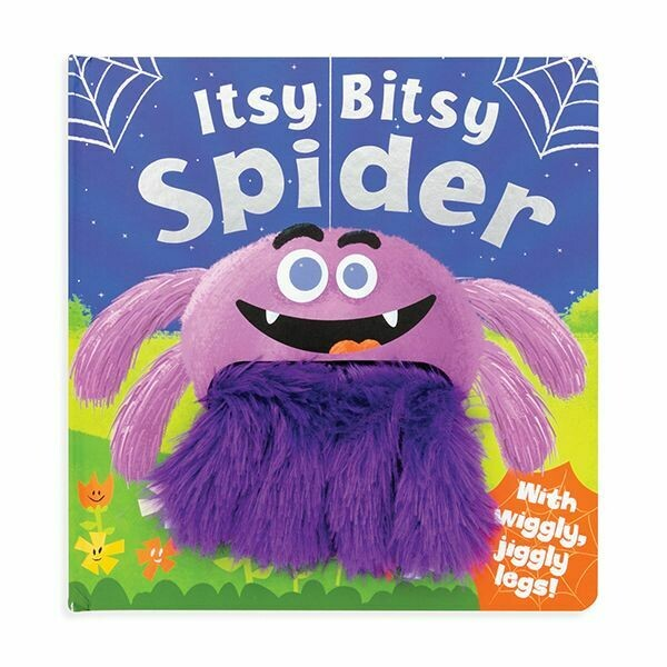 "7"" PADDED BOOK-ITSY BITSY SPIDER"
