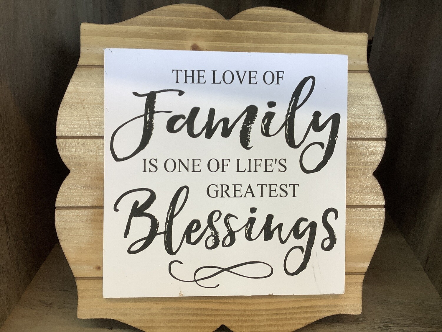 WALL DECOR FAMILY BLESSINGS