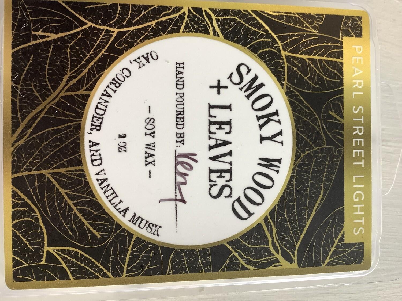 SMOKY WOODS+LEAVES WAX MELT