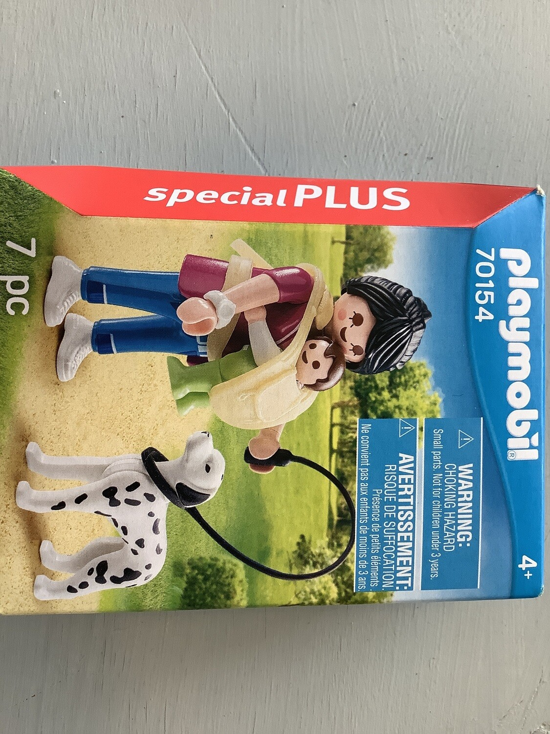 PLAYMOBIL SPECIAL PLUS MOTHER W/DOG AND BABY