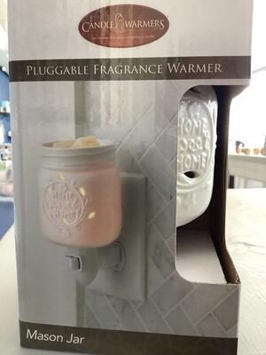 PLUGGABLE FRAGRANCE WARMER MASON JAR