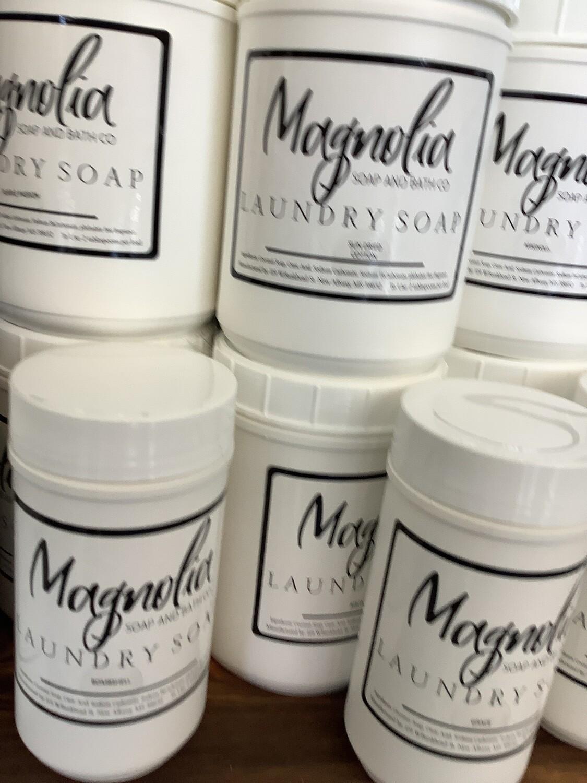 magnolia bath soap small