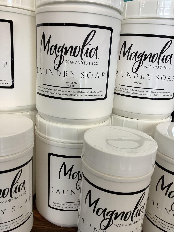magnolia bath laundry soap large