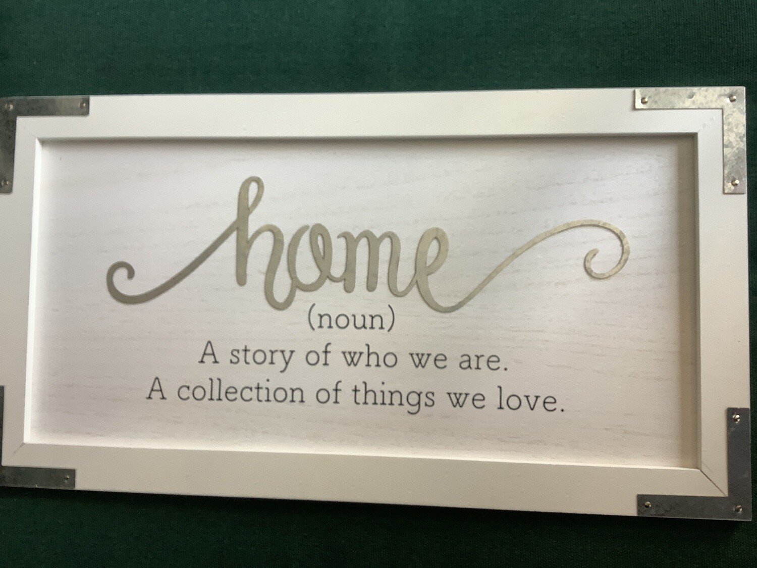 HOME WALL SIGN