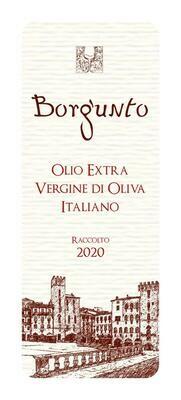 Olio Toscano Borgunto Colli Aretini 6 bottiglie