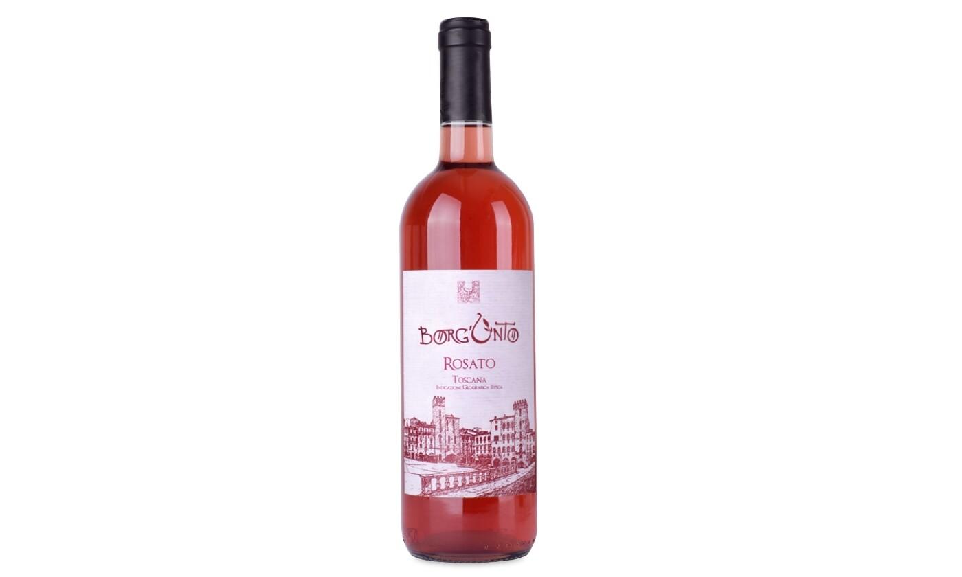 Vino Rosato Colli Aretini Borgunto 1 bottiglia