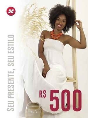 Cartão Presente R$500