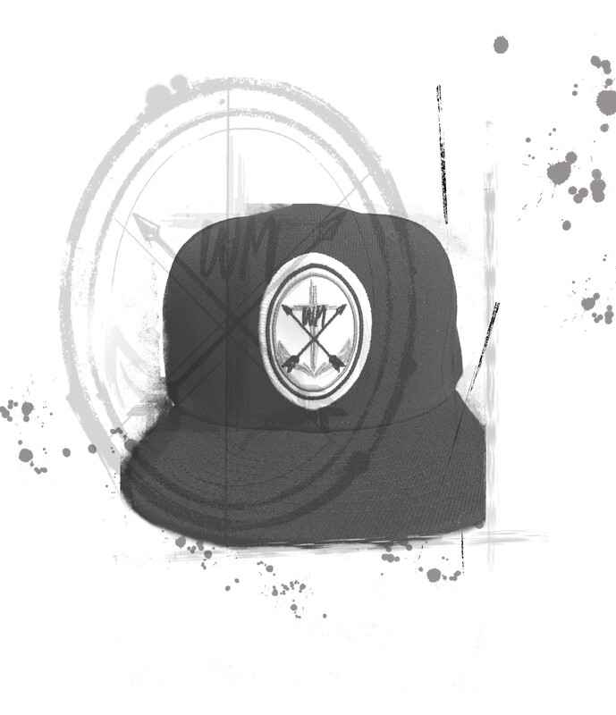 Snap back Flat Brim cap