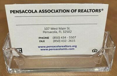 Business Card Holder Acrylic Desktop