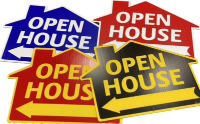 OPEN HOUSE (HOUSE SHAPE)