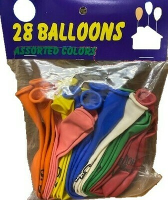 28 PACK BALLOONS