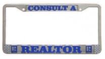 License Plate Frame (Metal)
