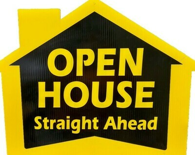 OPEN HOUSE STRAIGHT AHEAD