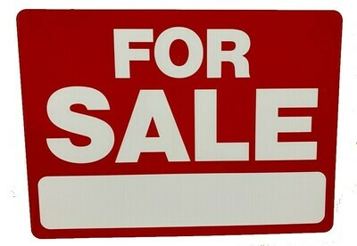FOR SALE LARGE SIGN