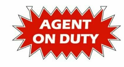 AGENT ON DUTY