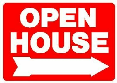 OPEN HOUSE LARGE SIGN 