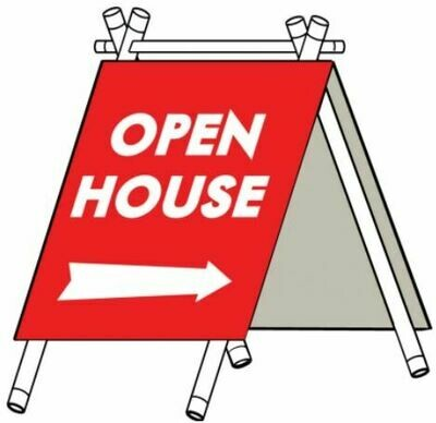 SMALL A-FRAME OPEN HOUSE