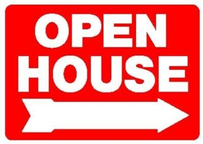 OPEN HOUSE LARGE PANEL SIGN