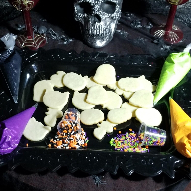 Glowing Halloween Cookie Kit for kids