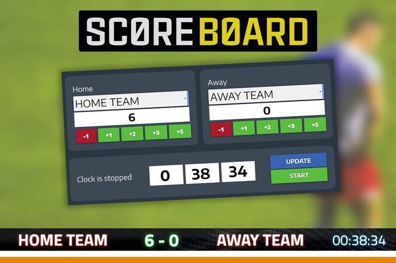 Scoreboard Extension