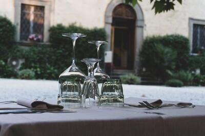 Voucher - Cena per due in villa storica Menù di Mare