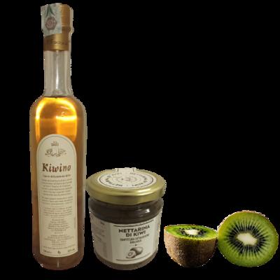 Liquore e confettura di kiwi