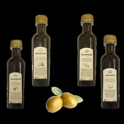 Crea il tuo Box con condimenti naturali a base di olio EVO 100ml