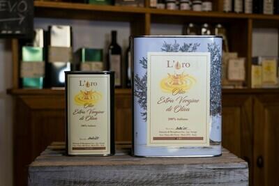 Olio Extra Vergine di oliva in Latta - Fattoria di Musigliano
