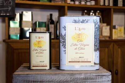 Olio Extra Vergine di oliva in latta - Fattoria di Musigliano - Buti (Pi)