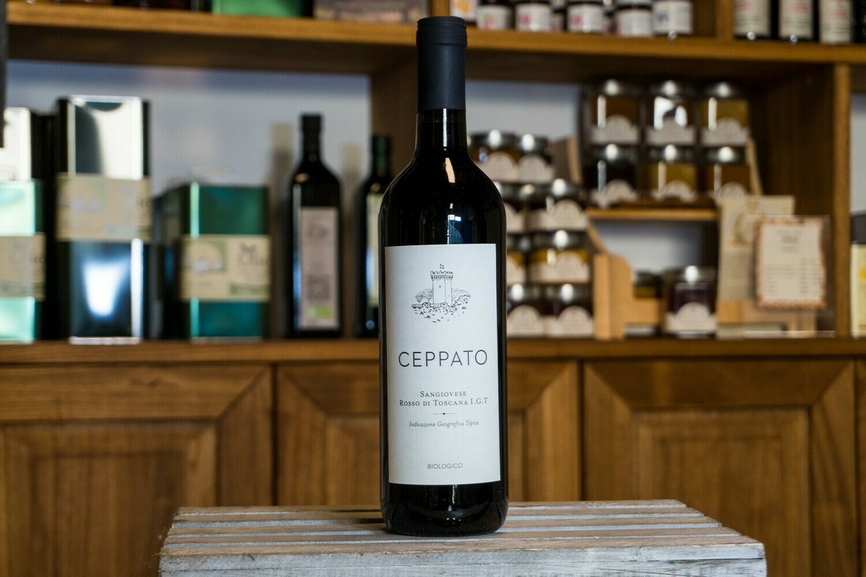 Vino Rosso Biologico Ceppato - Vicopisano (Pi)