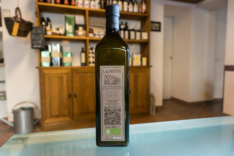 Olio Extra Vergine di oliva biologico 1l - San Giuliano Terme (Pi)