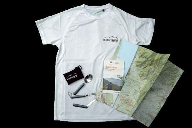 Kit dell'escursionista - Monte Pisano