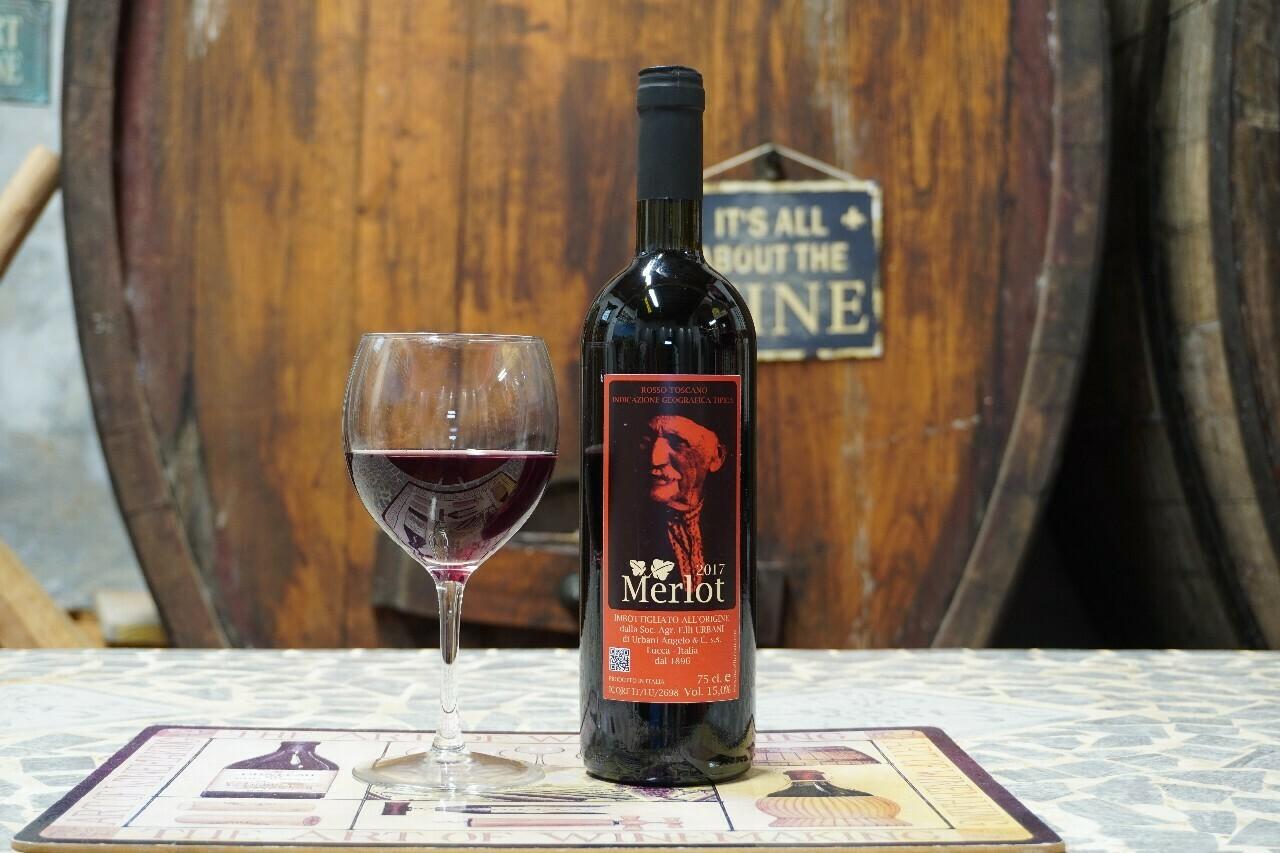 Merlot 2017 – Vino Rosso IGT