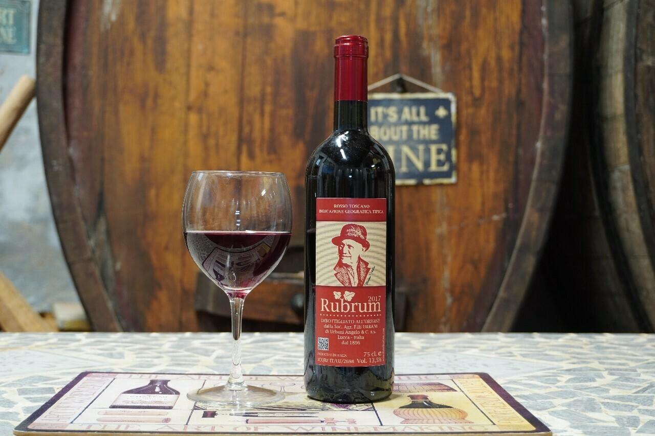 Rubrum 2017 – Vino Rosso IGT
