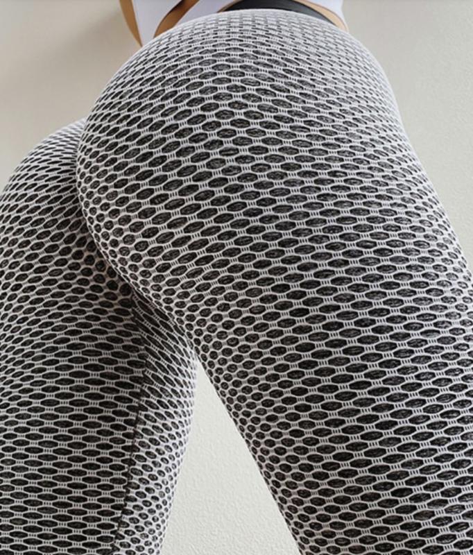 Tik Tok - leggings hvítt/grá