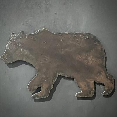 Bear Refrigerator Magnet