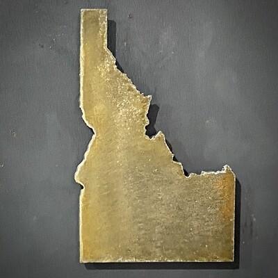 Idaho State Refrigerator Magnet