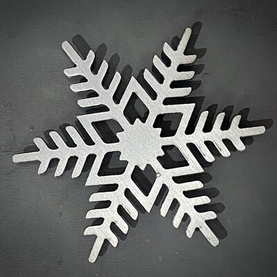 Snowflake Magnet (Style 3 )