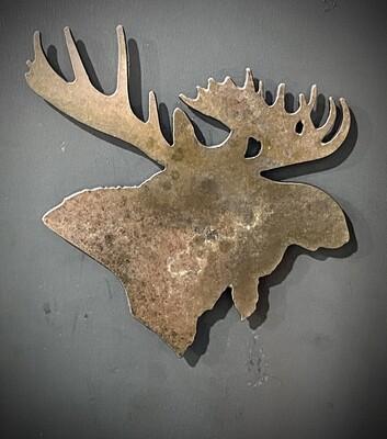 Moose Refrigerator Magnet