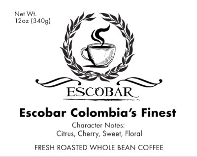 Escobar Colombia's Finest-12onz