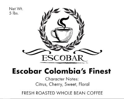 Escobar Colombia's Finest - 5LB