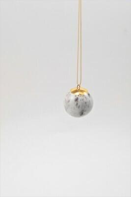 AQUARELLE pendant, white, medium