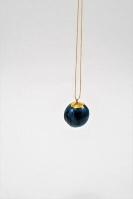 Jade PLANET pendant, medium