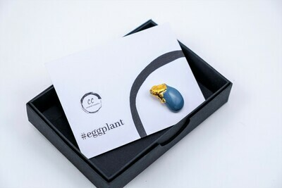 #Eggplant Pin
