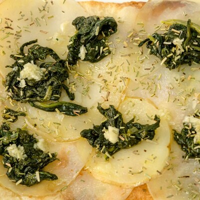 spinaci & patate