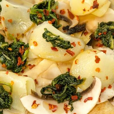 spinaci & funghi